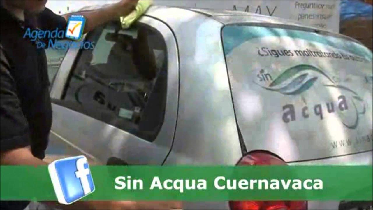 Formula para lavar autos sin agua - YouTube
