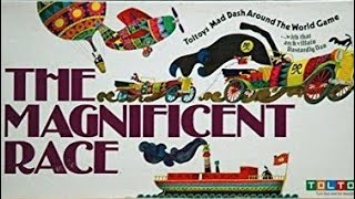 Ep 37: The Magnificent Race Board Game  Review(Parker Bros 1975)