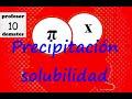 Calcular la solubilidad de una sal TRUCOS