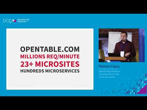 Matteo Figus - OpenComponents as microservices in the front-end world