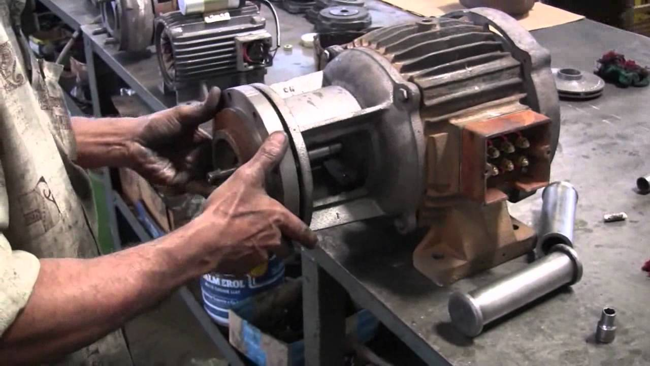 Assembly Of Monobloc Pump Youtube