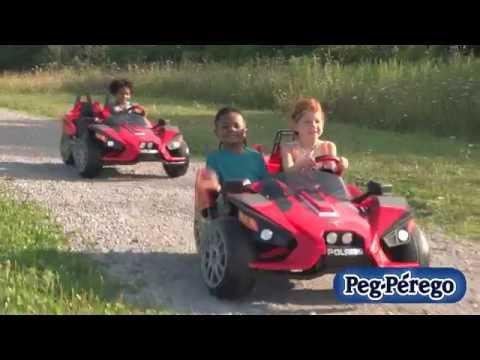 Slingshot Battery-Operated Ride-On for Children