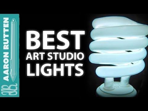 Best Light Bulbs for Art Studio LIGHTING  YouTube
