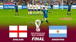 England vs Argentina Final FIFA World Cup 2022 Full Match All Goals PES 2021 eFootball