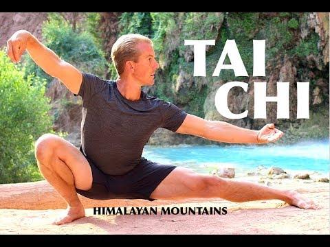 Yang Style TAI CHI - FULL FORM | Himalayan Mountains, India/Tibet