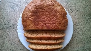 хлеб без дрожжей и без закваски рецепт в мультиварке