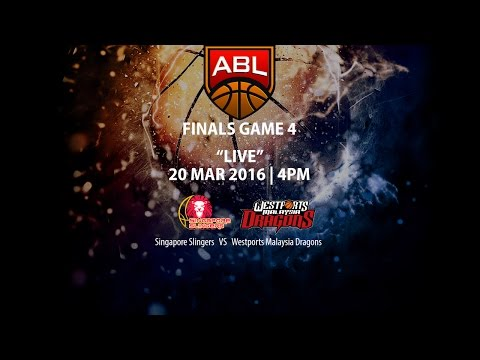 Singapore Slingers vs Westports Malaysia Dragons | ASEAN Basketball League 2015-2016 Finals Game 4