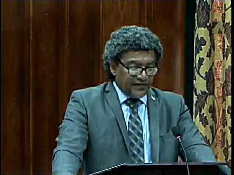 Hon  Bradly Felix address at the 2017 2018 Estimates of Expenditure Debate Saint Lucia