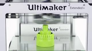 Ultimaker 2+. Печать микрометра. Timelapse(, 2017-04-25T16:03:26.000Z)