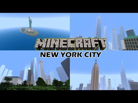 MINECRAFT BEST NEW YORK CITY MAP EVER