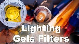 Цветные фильтры (гели)  для вспышки.