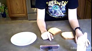 Trying Larrys recipe for toast!