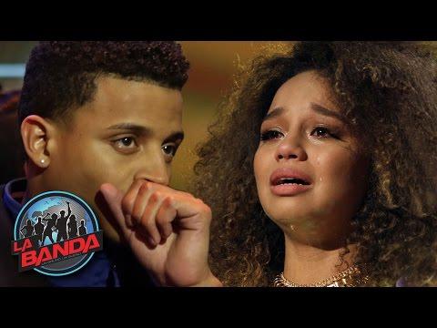 La Banda Extra | Christian  and Alondra heartbroken after Edward's elimination