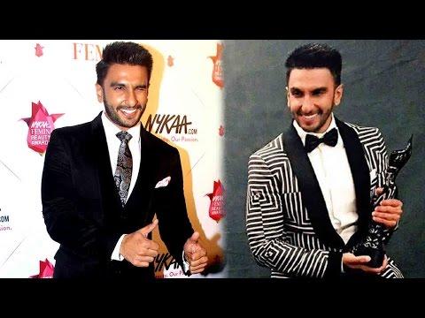 Ranveer Singh Receives An Award