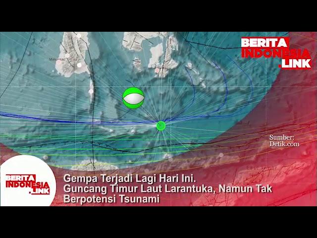 Gempa terjadi lagi, kali ini di Larantuka dan tidak potensi Tsunami