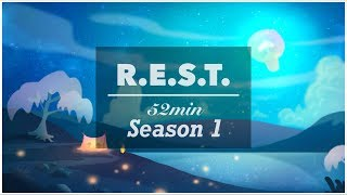 REST project - Season1 | 52min | Relax, Piano, Meditation, Music, ASMR, Peace, Angel, Illustration