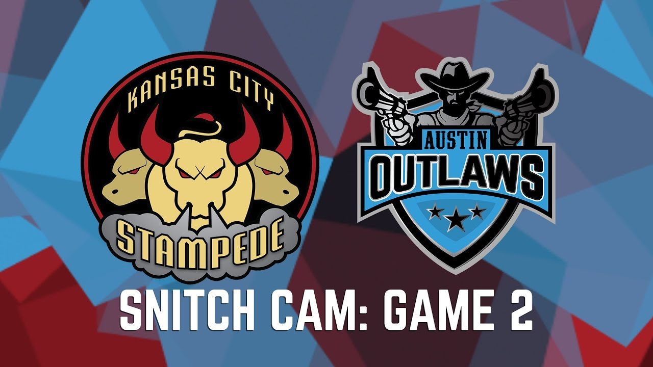 Snitch Cam Kansas City Stampede Vs Austin Outlaws Game 2 Youtube