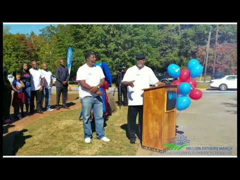 Real Dads Read at Toney Elementary School - 2017 Million Fathers March