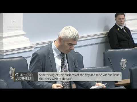 Pádraig Ó Céidigh - RTE - Order of Business Seanad - 24 Nov 2017