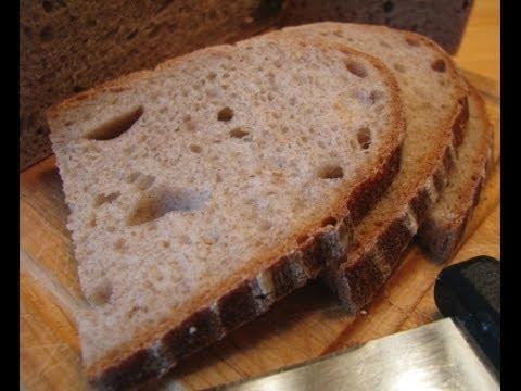 Хлеб на закваске на 1 - 2 - 3