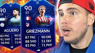 TROVO +90 WALKOUT! NUOVE CARTE UCL LIVE!? + PREMI WL - PACK OPENING FIFA 19 Ultimate Team