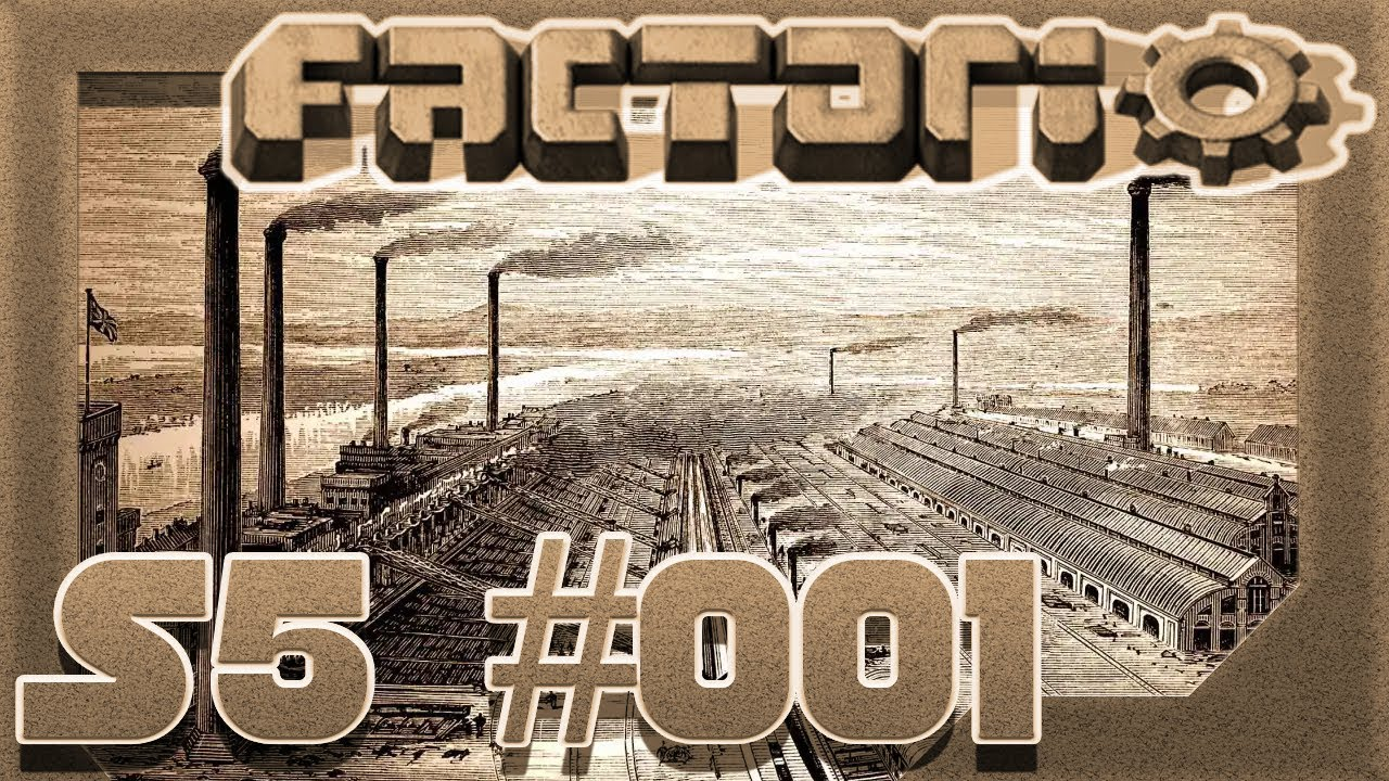 Industrial Revolution & Krastorio - #001 - Factorio S5 0 17 -  Deutsch/German Let's Play