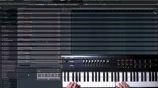 автоаккомпанемент для midi клавиатуры чтобы играть в живую