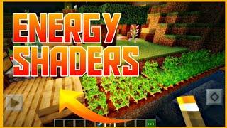EnergyShaders v3.7.0, Linda e Leve Para Minecraft PE 1.16 OFICIAL!!!