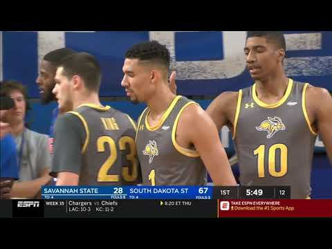 South Dakota State on SportsCenter - Jacks score 90 in 1st Half