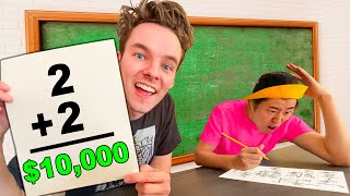 SMARTEST YOUTUBER WINS $10,000 - Challenge