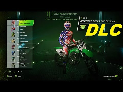 supercross the game 2018 new dlc 2018 new skin pack. Black Bedroom Furniture Sets. Home Design Ideas