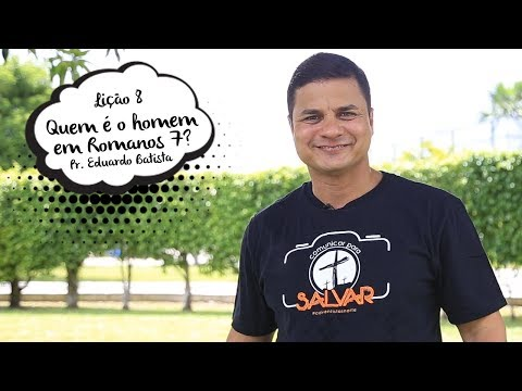 Lição 8 - 18/11/2017 | pastor Eduardo Batista