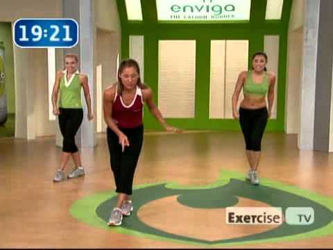 Cardio Groove Nu0027 Burn Workout Videos By ExerciseTV Part 29