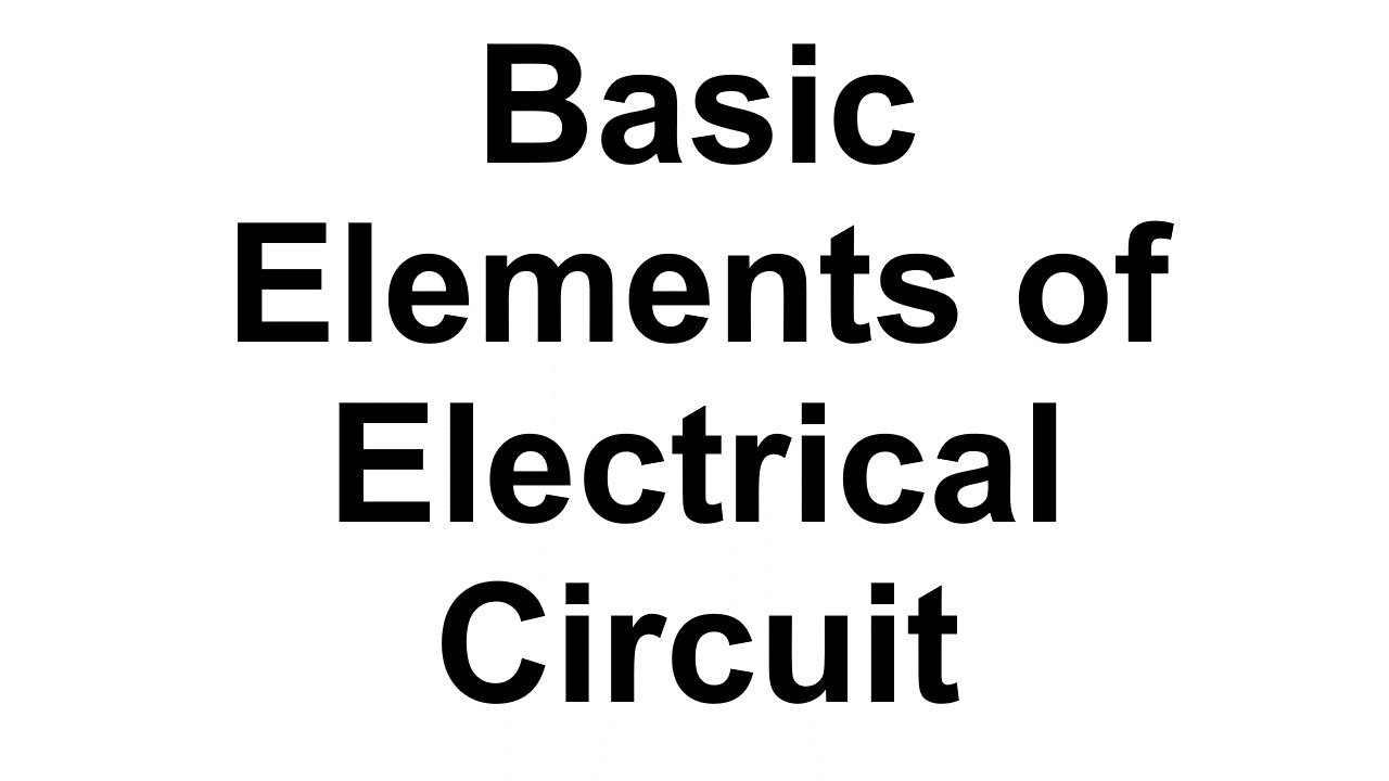 basic elements of electrical circuits and network  hindi