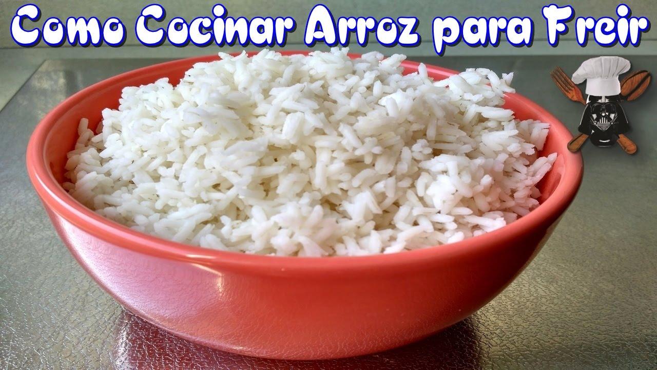 Como cocinar arroz para freirlo youtube for Como cocinar 5 kilos de arroz
