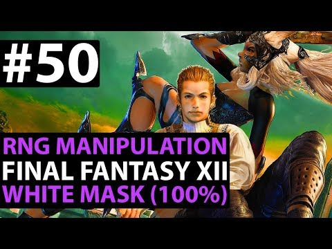 Final Fantasy 12 The Zodiac Age How To Get WHITE MASK Easy (HOLY ABSORB HELM) Reks RNG Guide