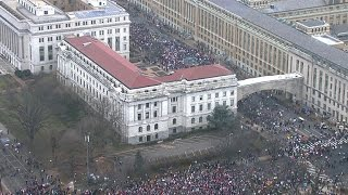 Massive turnout for Women's March on Washington