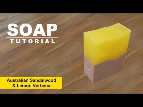 Lemon Verbena & Australian Sandalwood, Melt and Pour, ( Contest Giveaway )