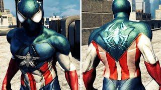 Captain Spider-man Costume - The Amazing Spider-man 2 (PC) MOD