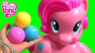 Pinkie Pie Party Popper My Little Pony Toys ❤ Lanzabolitas Mi Pequeño Poni ❤ Bolinhas Voadoras