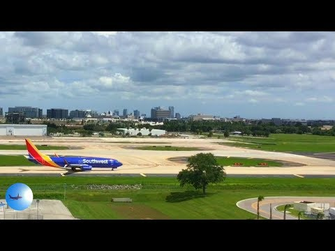 Southwest Departures at TPA Viewed from the Economy Garage | TPAspotting