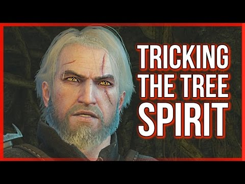 Witcher 3 ► Tricking the Tree Spirit on the Whispering Hillock - Ghost in the Tree