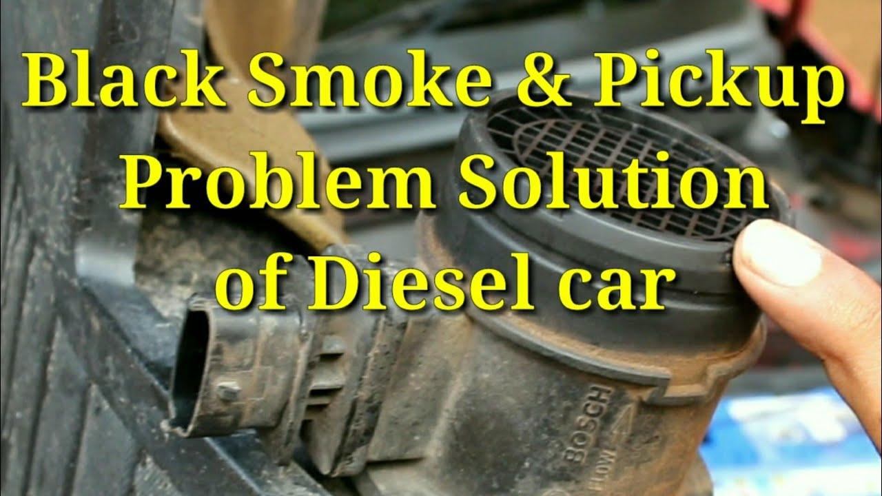 Car Pickup Problem Solution || Mass Air flow sensor Cleaning p0102