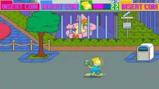 Game | The Simpsons Arcade Game Part 1 | The Simpsons Arcade Game Part 1