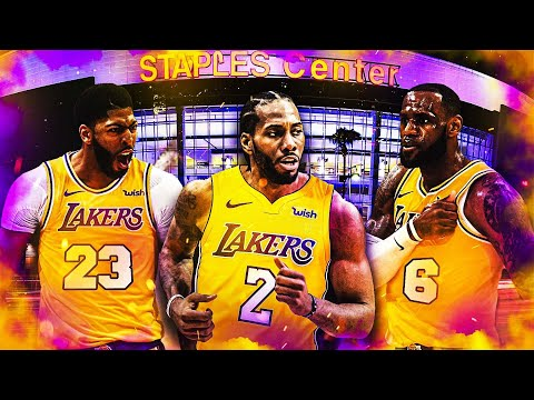 LEBRON JAMES, ANTHONY DAVIS and KAWHI LEONARD NEW LAKERS TRIO in NBA2K19 MYPARK