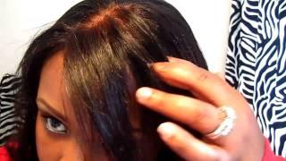 كيفية إنشاء جزء طبيعي على شعر مستعار الدانتيل جزء 1