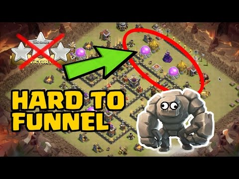Th9 War Base 2017 Anti 3 Star Defense Against Witch S
