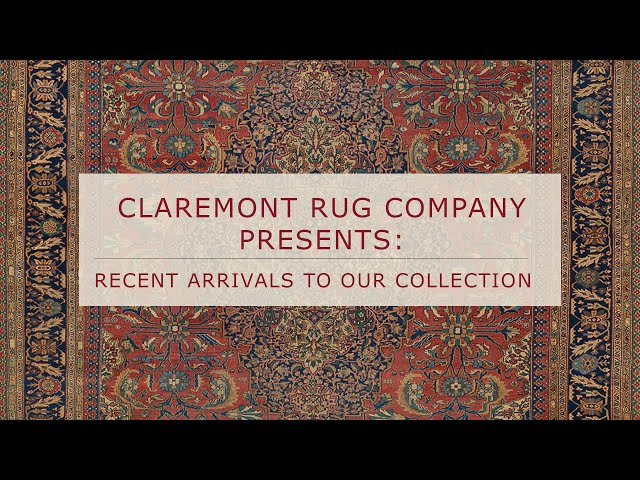 Claremont Rug Company Presents A New Arrival to Our Collection