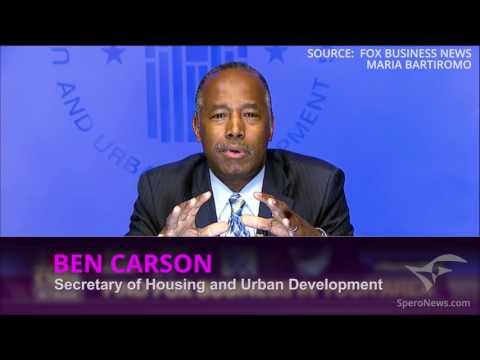 Ben Carson: Home ownership is the primary mechanism of wealth creation