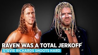 """Download Video Stevie Richards Shoots Hard On Raven """"He was a jerkoff"""" MP3 3GP MP4"""